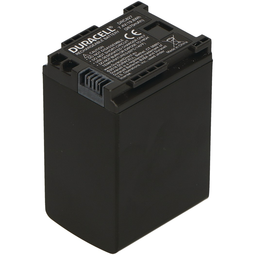 Replacement Canon BP-827 Battery