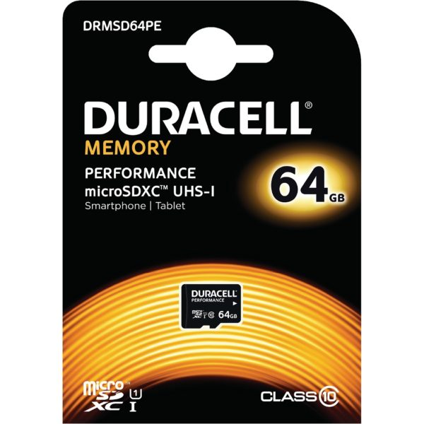 64GB microSDXC Class 10 UHS-I Card