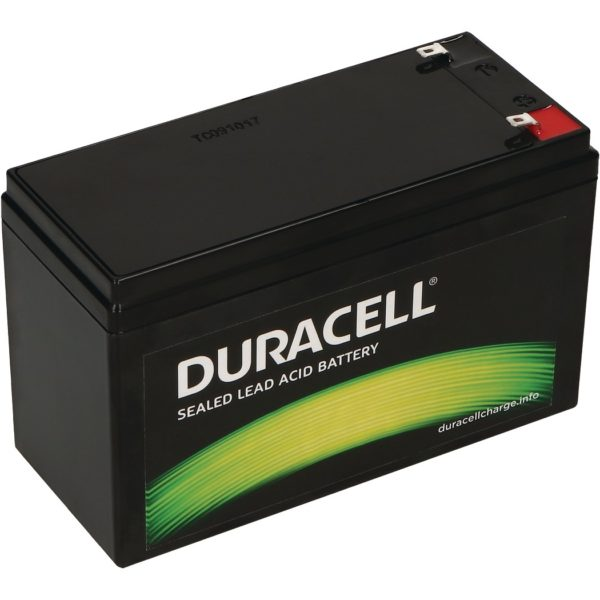 Duracell Original DR7-12 Valve Regulated Lead Battery - 12V | 7Ah - Replaces APC RBC17 | RNC2 | CSB GP1272F2 | Lucas LSLA7-12 | Panasonic LC-R127R2PG | Yuasa NP7-12 | V142401 | Y7-12
